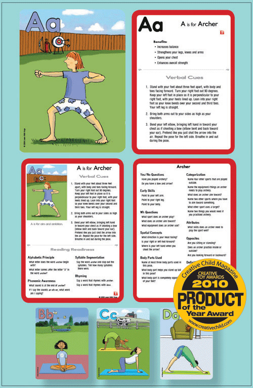 graphic regarding Yoga Cards Printable named Yoga Printables