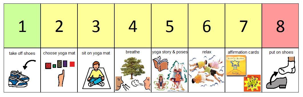 yoga omazing schedule