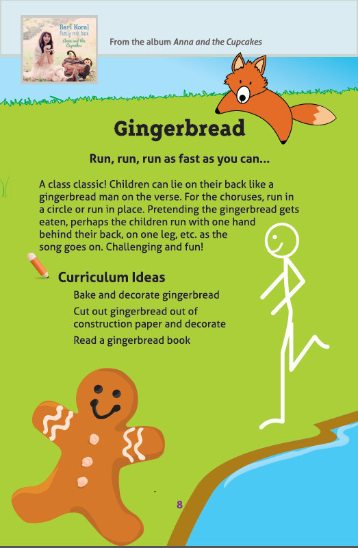 Gingerbread Man activities - click pic to see full size