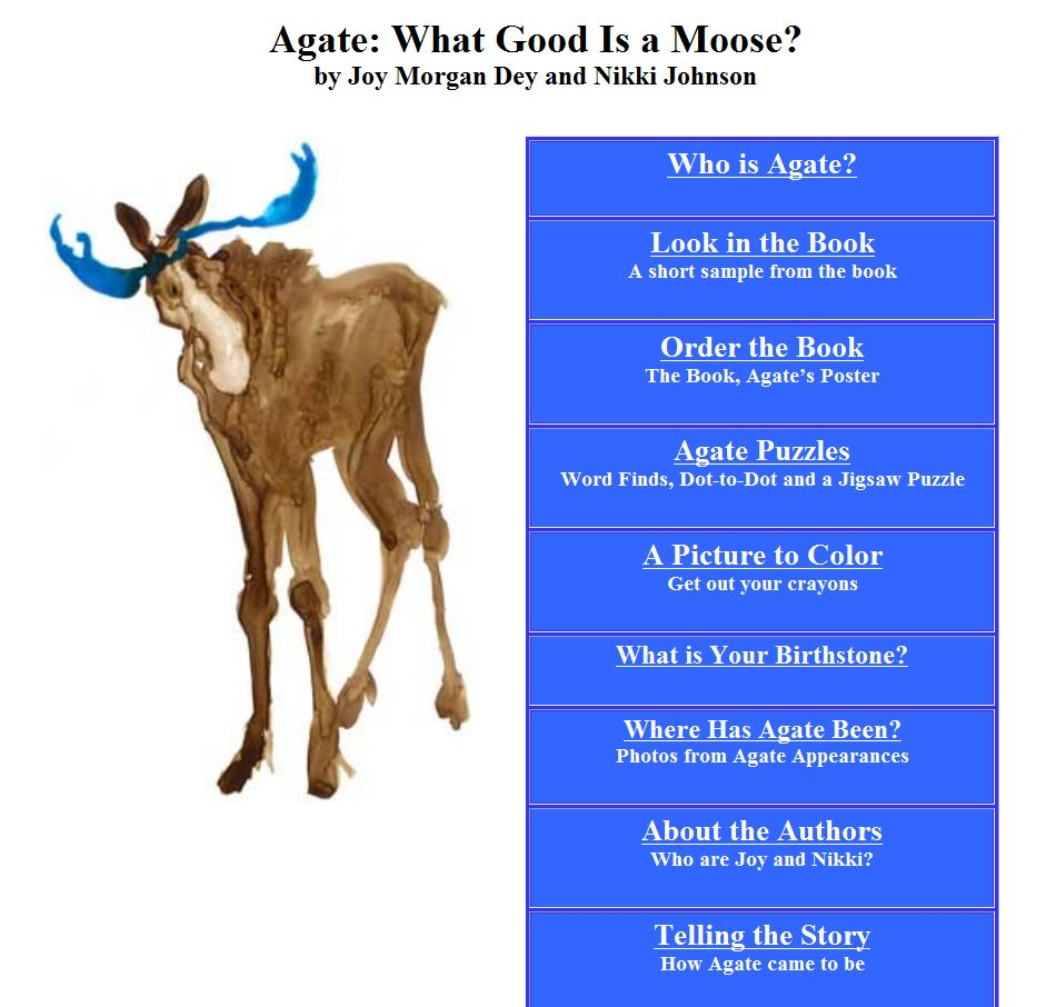 Agate the moose