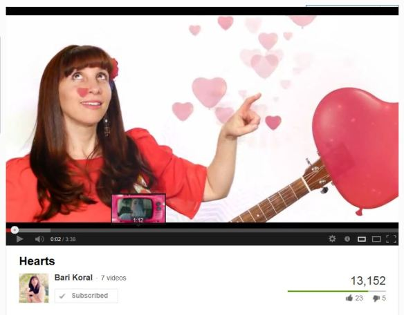 Bari Koral Hearts - click pic to go to Youtube video