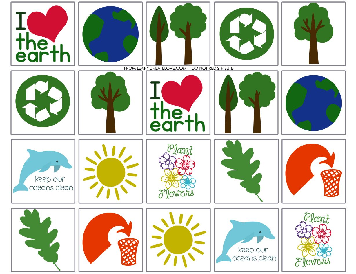 worksheet Earth Day Worksheet earth day every ideas for teaching kids about eco friendly memory game printable
