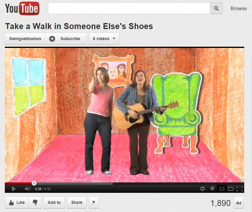 Take A Walk In Someone Else S Shoes Song