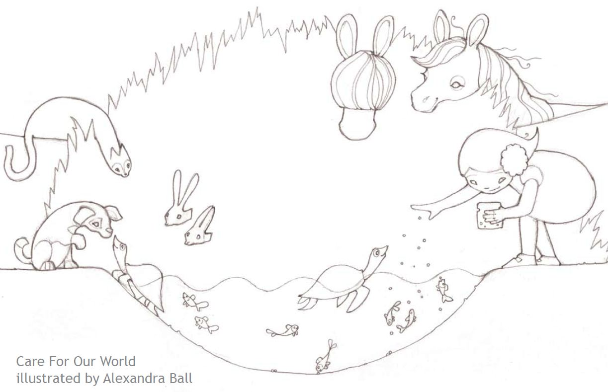 coloring pages for eco friendly - photo#13