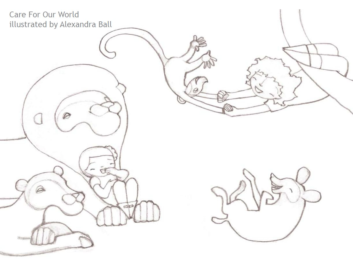 coloring pages for eco friendly - photo#18