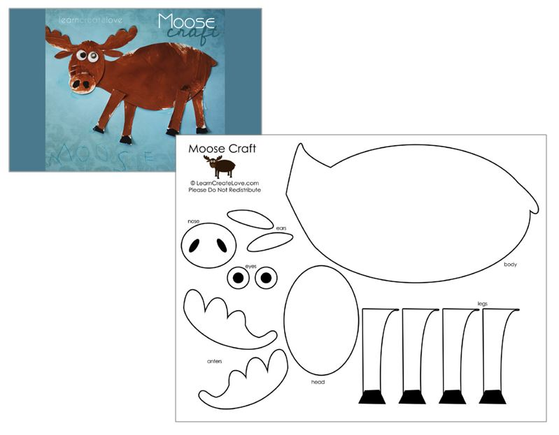 picture relating to Moose Template Printable called Agate What Optimistic Is A Moose? OMazing Youngsters