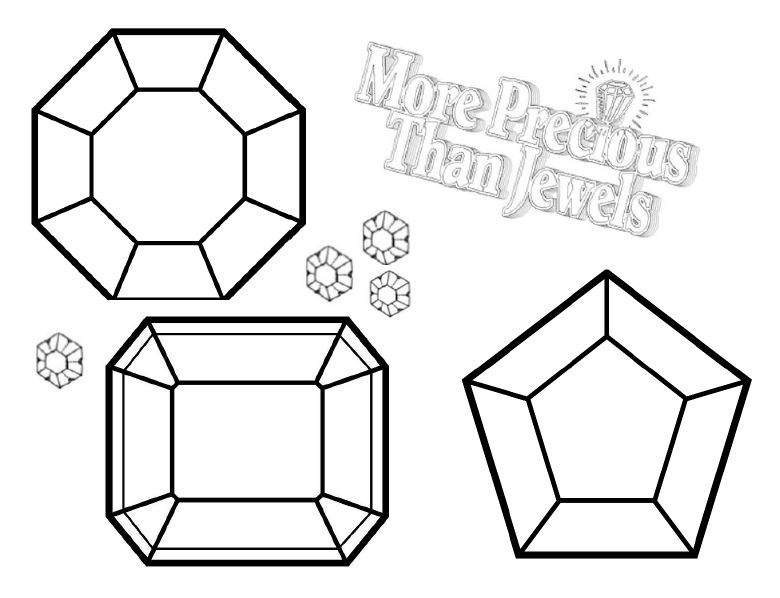 gem coloring pages -#main