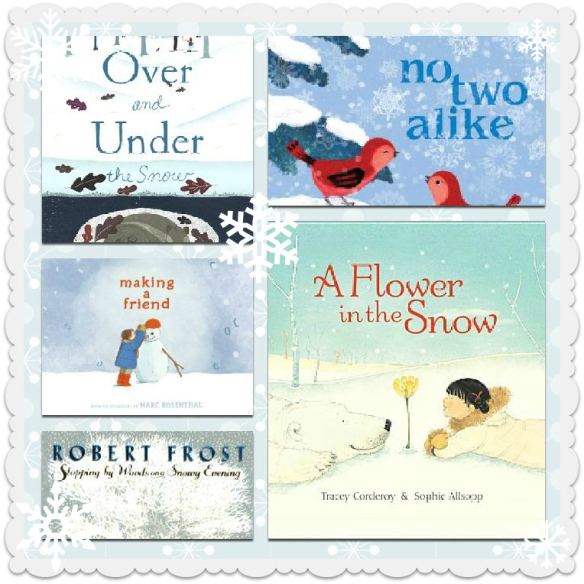 snowy book faves