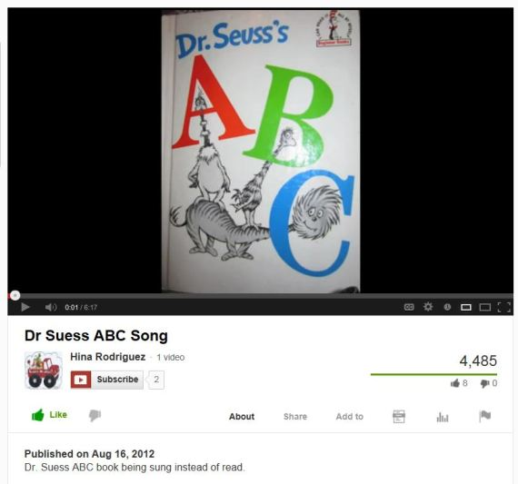 Dr Seuss ABC Song