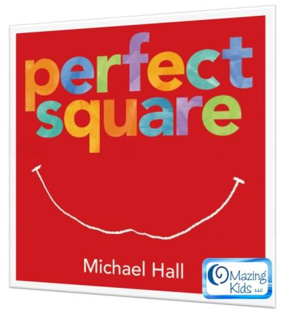 perfect square cover with OMazing Kids logo