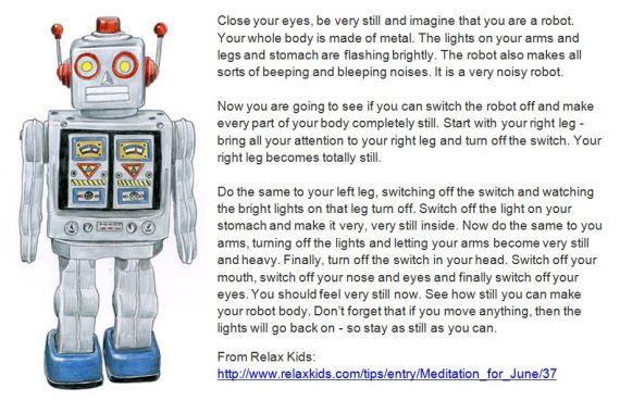 Robot Relaxation Script