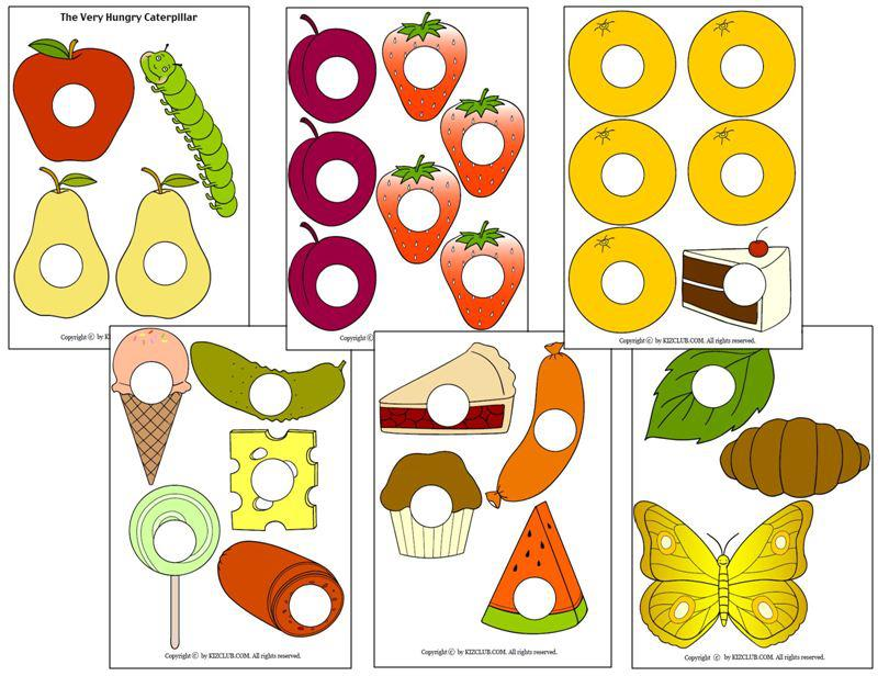 It's just a graphic of Dynamic The Very Hungry Caterpillar Printable