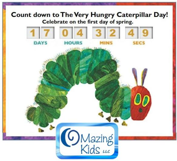 Celebrate Very Hungry Caterpillar Day