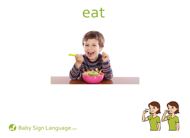 Breakfast |Eat Sign For Baby Pick