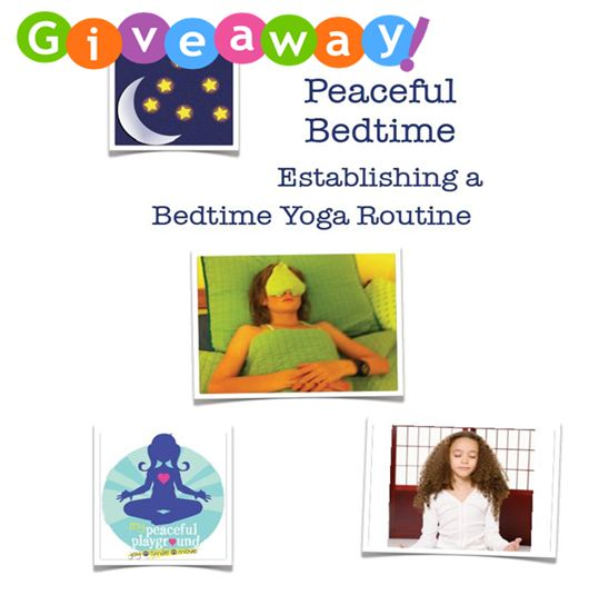 Giveaway Peaceful Bedtime Yoga