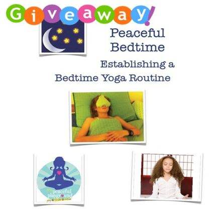 Giveaway Peaceful Bedtime Yoga