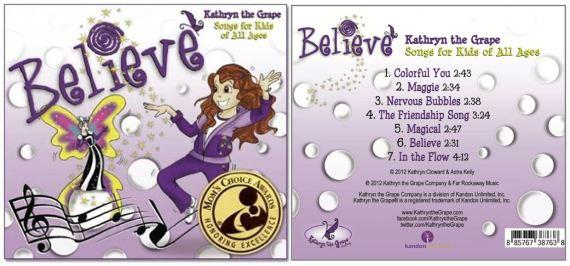 Kathryn the Grape CD