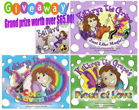 Kathryn the Grape Giveaway