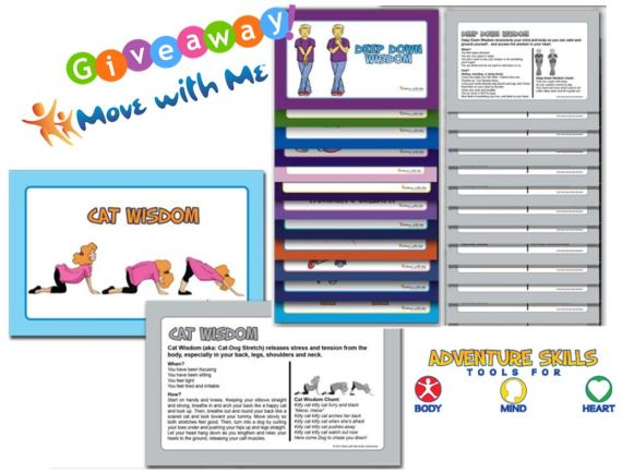 Move with me adventure skills cards giveaway