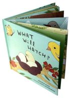 What Will Hatch - open book