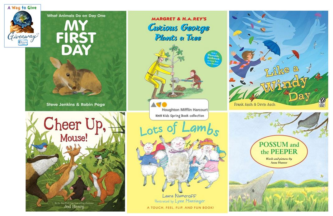 HMH Kids Spring Book Collection