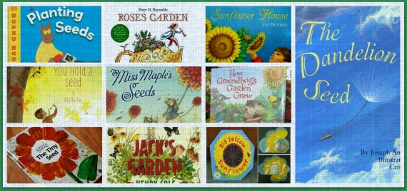 PicMonkey Collage seeds books