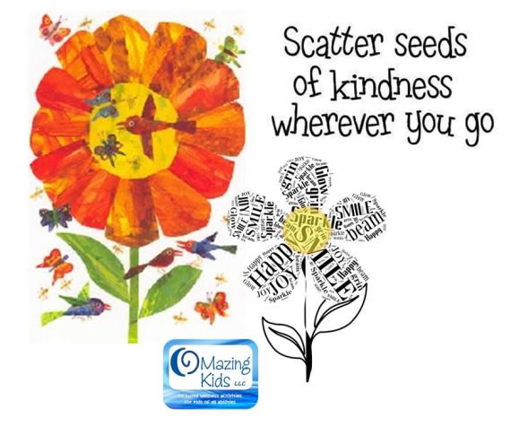 scatter seeds of kindness