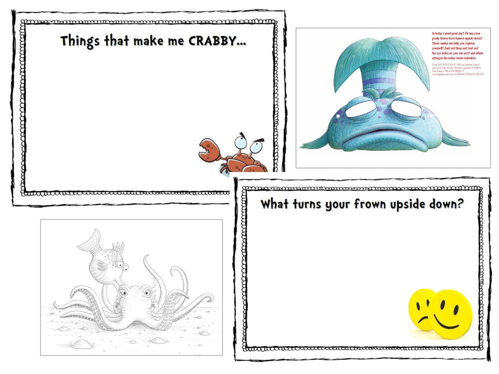 pout pout fish coloring sheets omazing kids - Pout Pout Fish Coloring Page