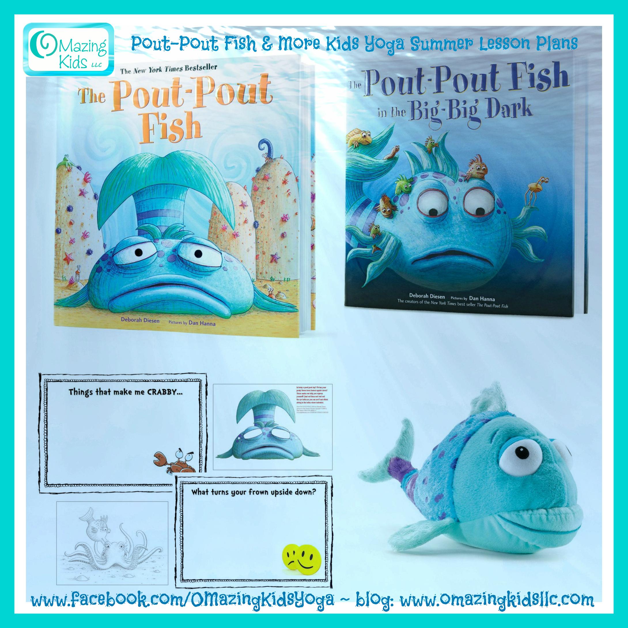 Pout-Pout Fish Lesson Plan plus Summer Themed Books, Music ...