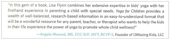 review of Yoga for Children book