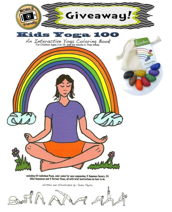 mobile friendly Kids Yoga 100 giveaway