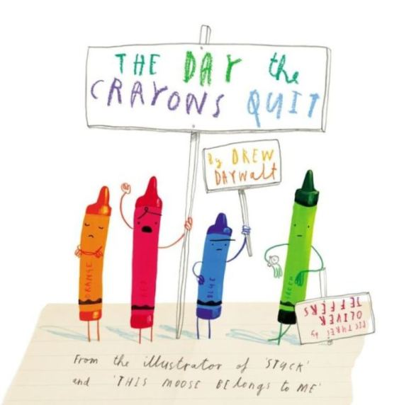 The Day The Crayons Quit - cover