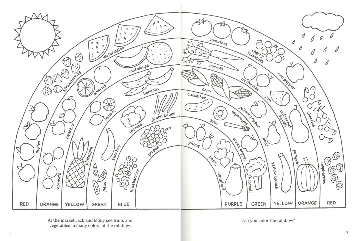 healhty coloring pages - photo#5