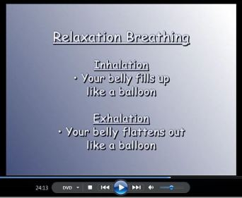 Creative Relaxation DVD 7