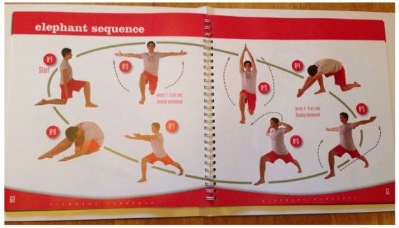 creative yoga for teenagers - sequence 2