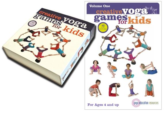 Creative Yoga Games for Kids - Volume 1 (Boxed Set and digital download)