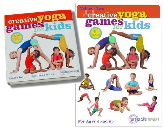 Creative Yoga Games for Kids - Volume 2 (Boxed Set and digital download)