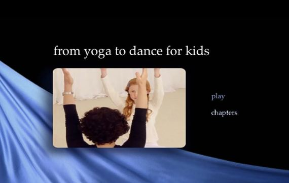 DVD yoga to dance