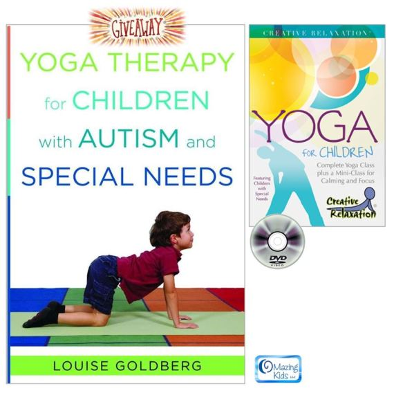 Louise Goldberg Yoga Therapy Giveaway