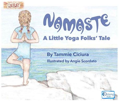 Namaste A Little Yoga Folks' Tale giveaway