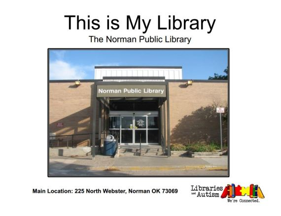 This is My Library - Norman Public Library - Social Story (click pic to open PDF)
