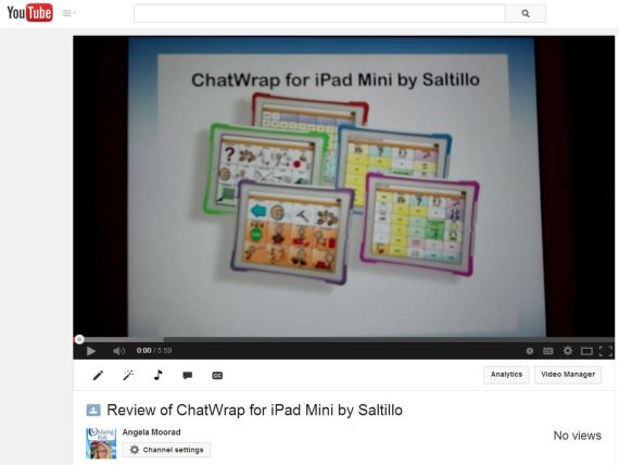 Chatwrap youtube video
