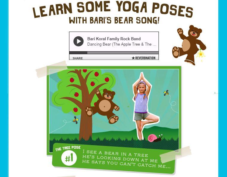 Yoga Bear preview