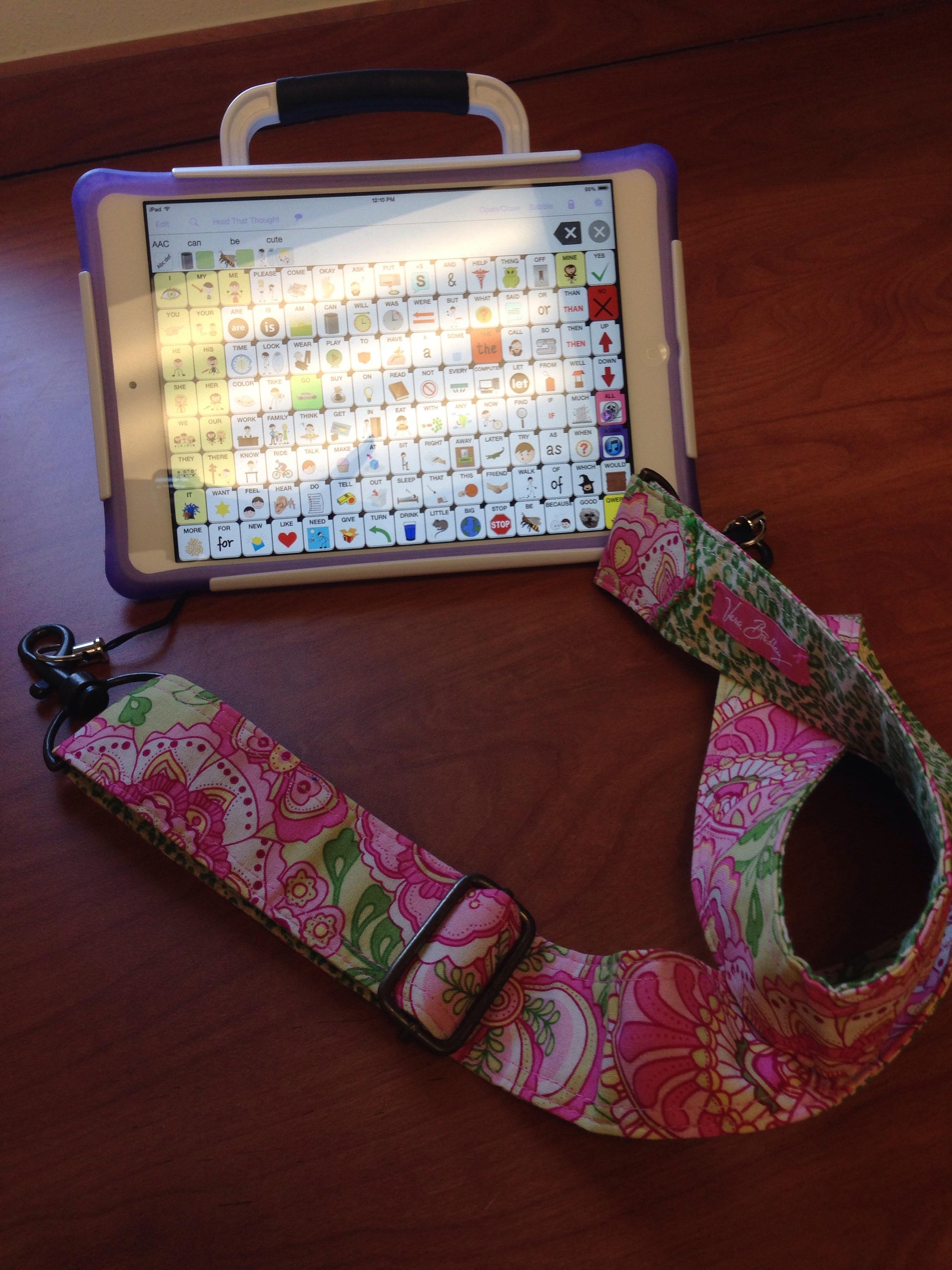 Chatwrap Case For Ipad Mini Omazing Kids Wiring Harness Vera Bradley Aac Strap