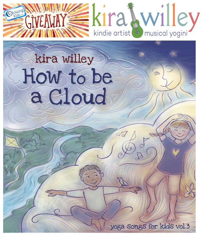 How to be a Cloud by Kira Willey CD giveaway