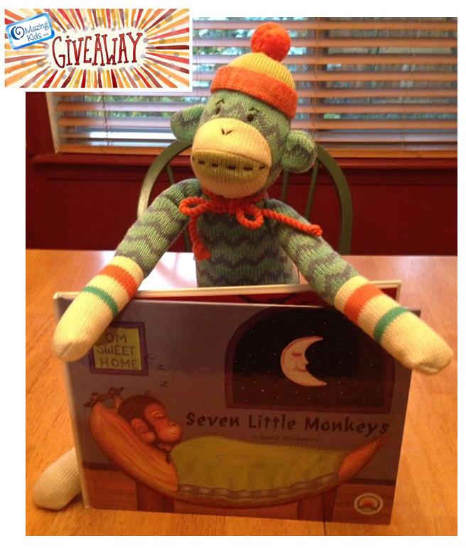 Seven Little Monkeys book giveaway