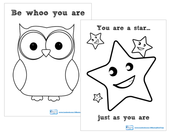 Be Whoo You Are - You Are a Star Just as you are