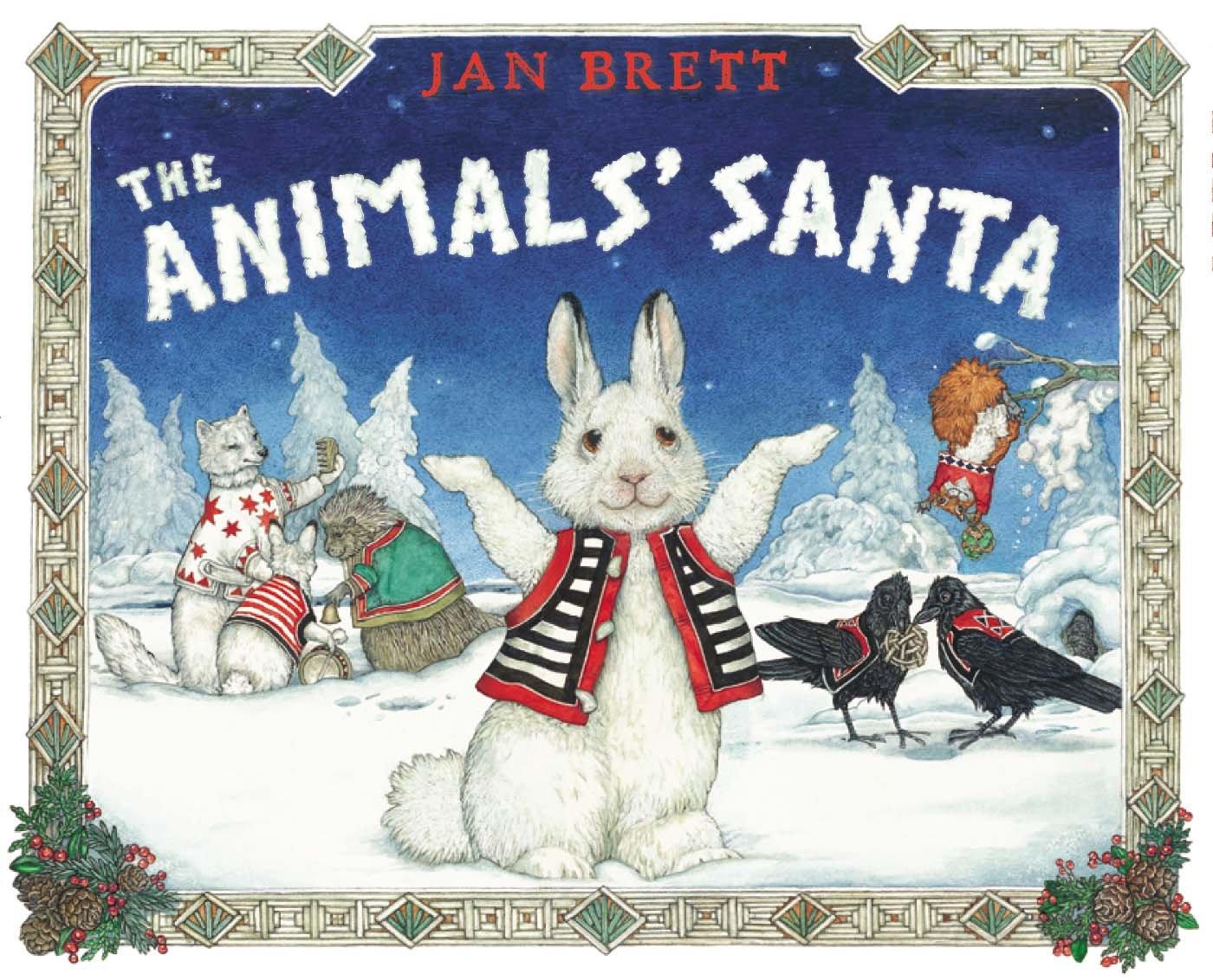 The Animals Santa book