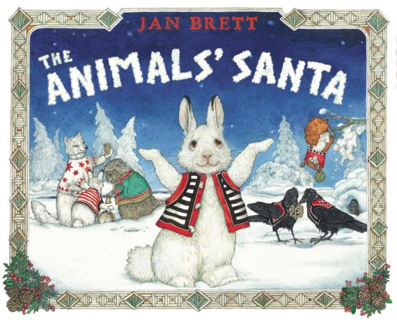 The Animals Santa book