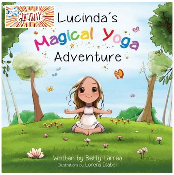 "Book Cover Layout Yoga : Review giveaway ""lucinda s magical yoga adventure by"